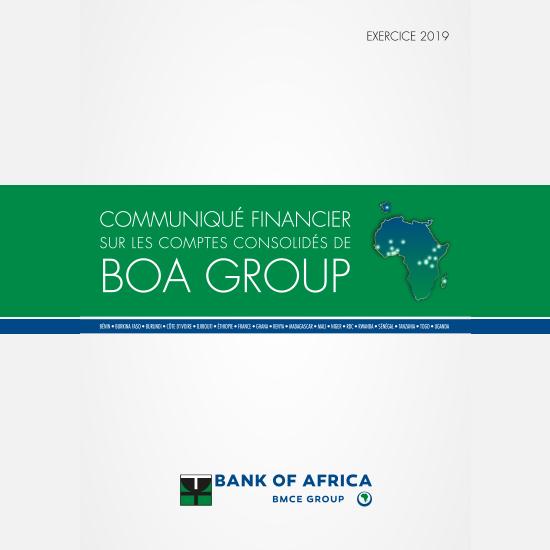 Communiqué financier sur les comptes consolidés de BOA Group