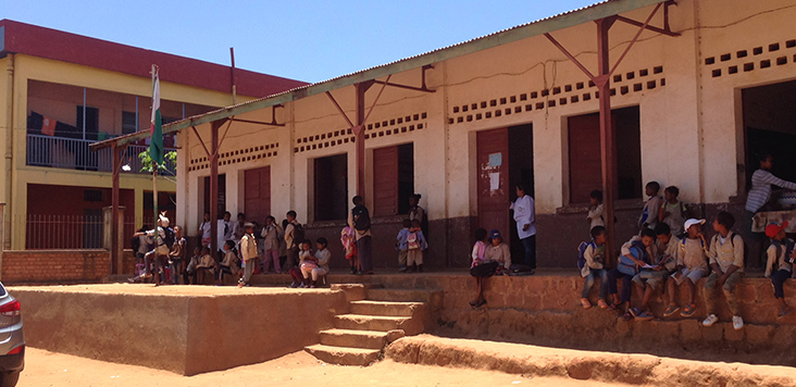 3 1 0 Ecole primaire dAndoharanafotsy avant renovation Photo FBOA