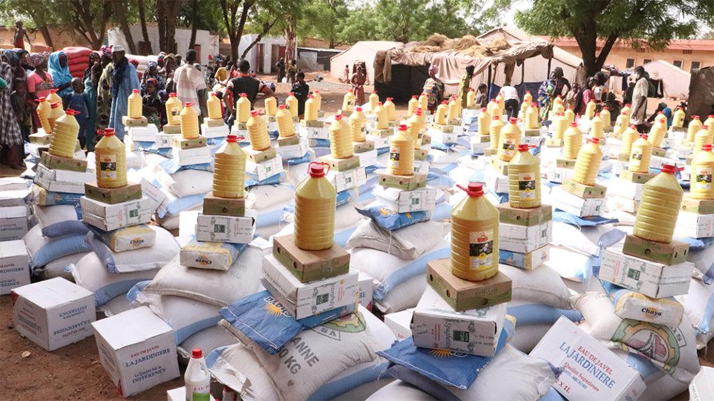 3 3 1 Paniers alimentaires camp de Niamana Mali