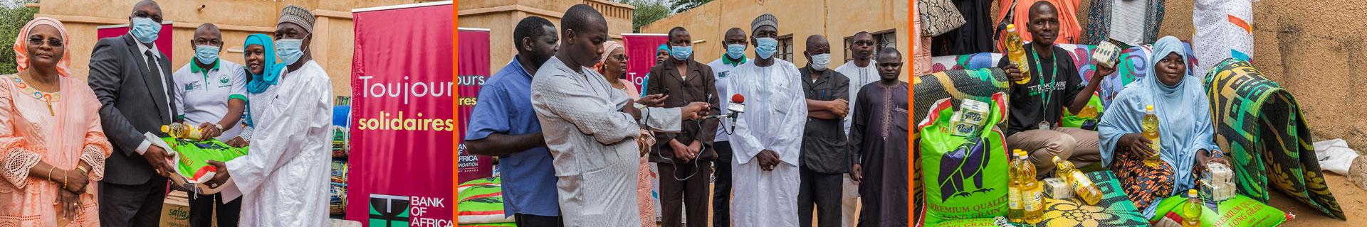 La Fondation BOA soutien les sinistrés des inondations à Niamey (09-10-2020)