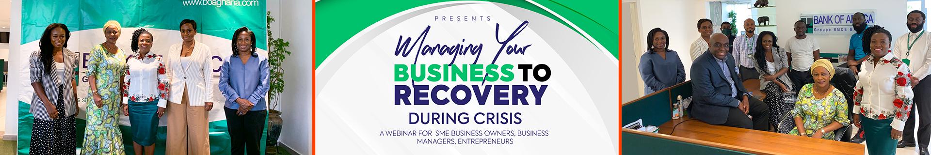 BOA-GHANA ORGANISES WEBINAR FOR SME ENTREPRENEURS, BUSINESS OWNERS & MANAGERS (06-08-2020)