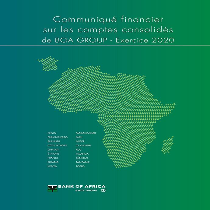 Communique financier 2020 Coverr